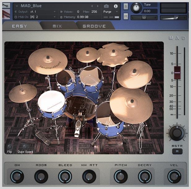 HandHeldSound   MAD Drum Kit Series