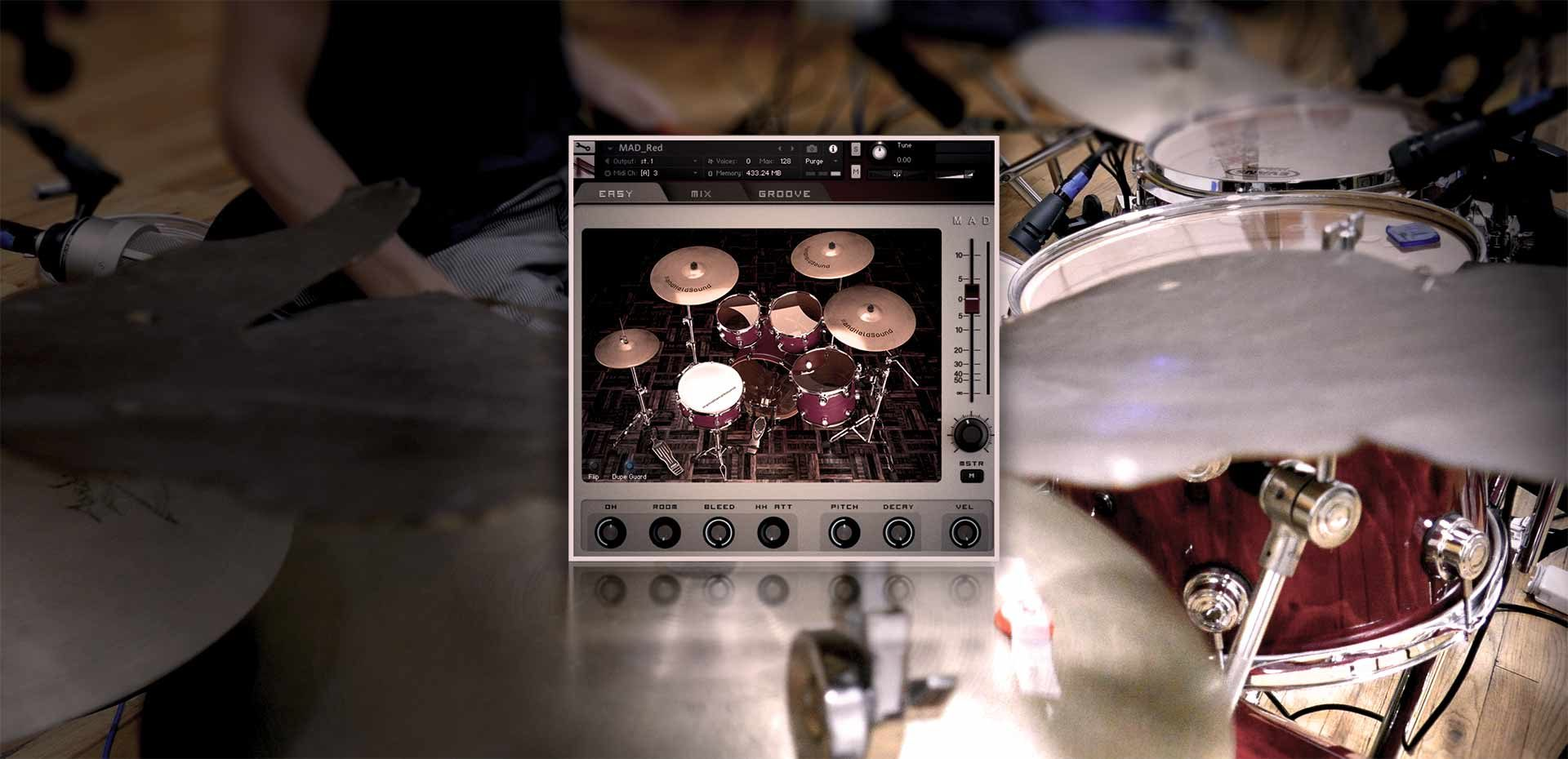 HandHeldSound | MAD Drum Kit Series
