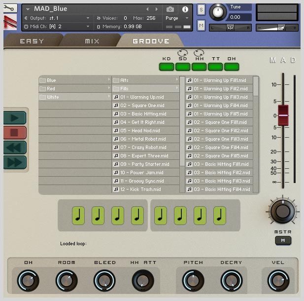 HandHeldSound | MAD Drum Kit Series